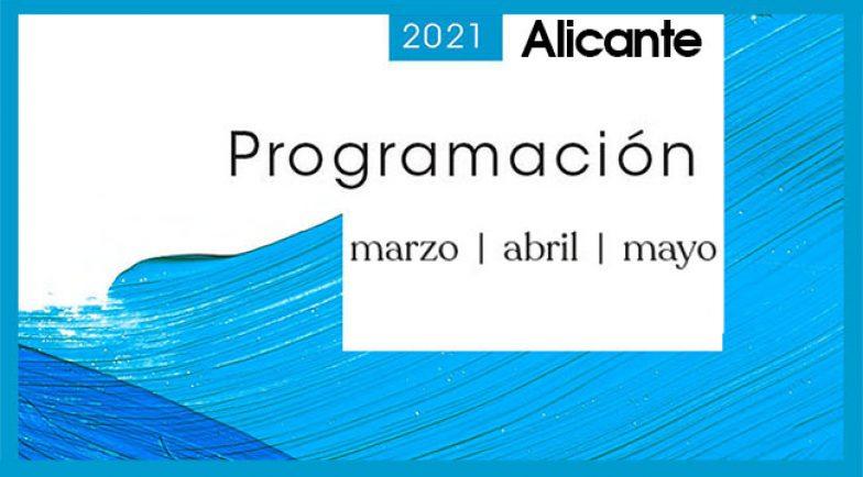 Agenda Alicante - MEDITERRÁNEO marzo a mayo portada actualidad copia