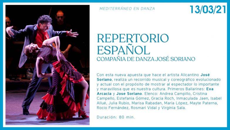 repetorio español Mediterraneo en danza